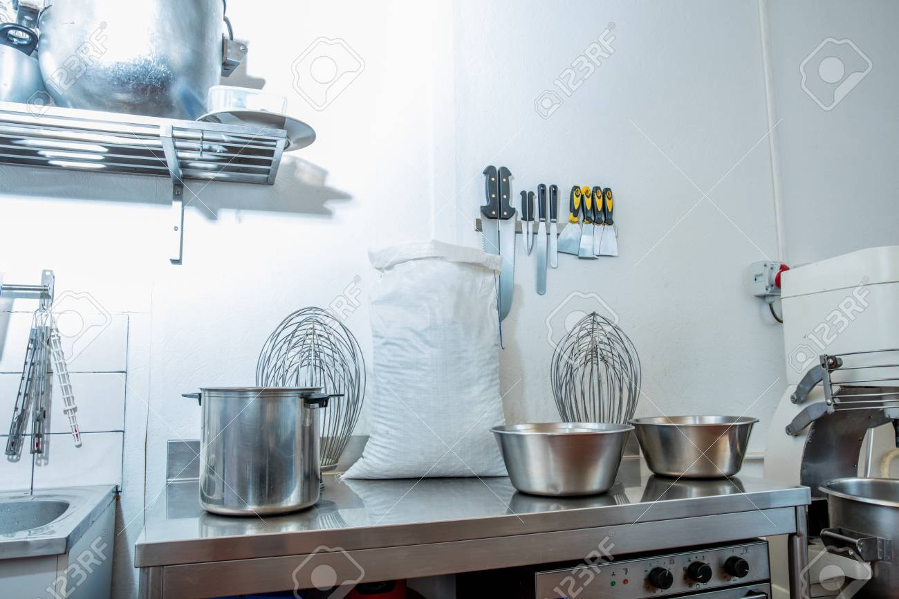 Industrial And Commercial Utensils And Accessories With Big Whisks ...