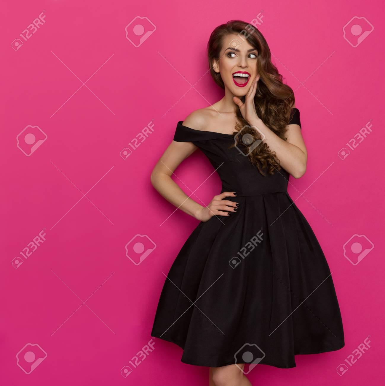 Excepcional Vestido Peplum Cóctel Imágenes - Colección de Vestidos ...