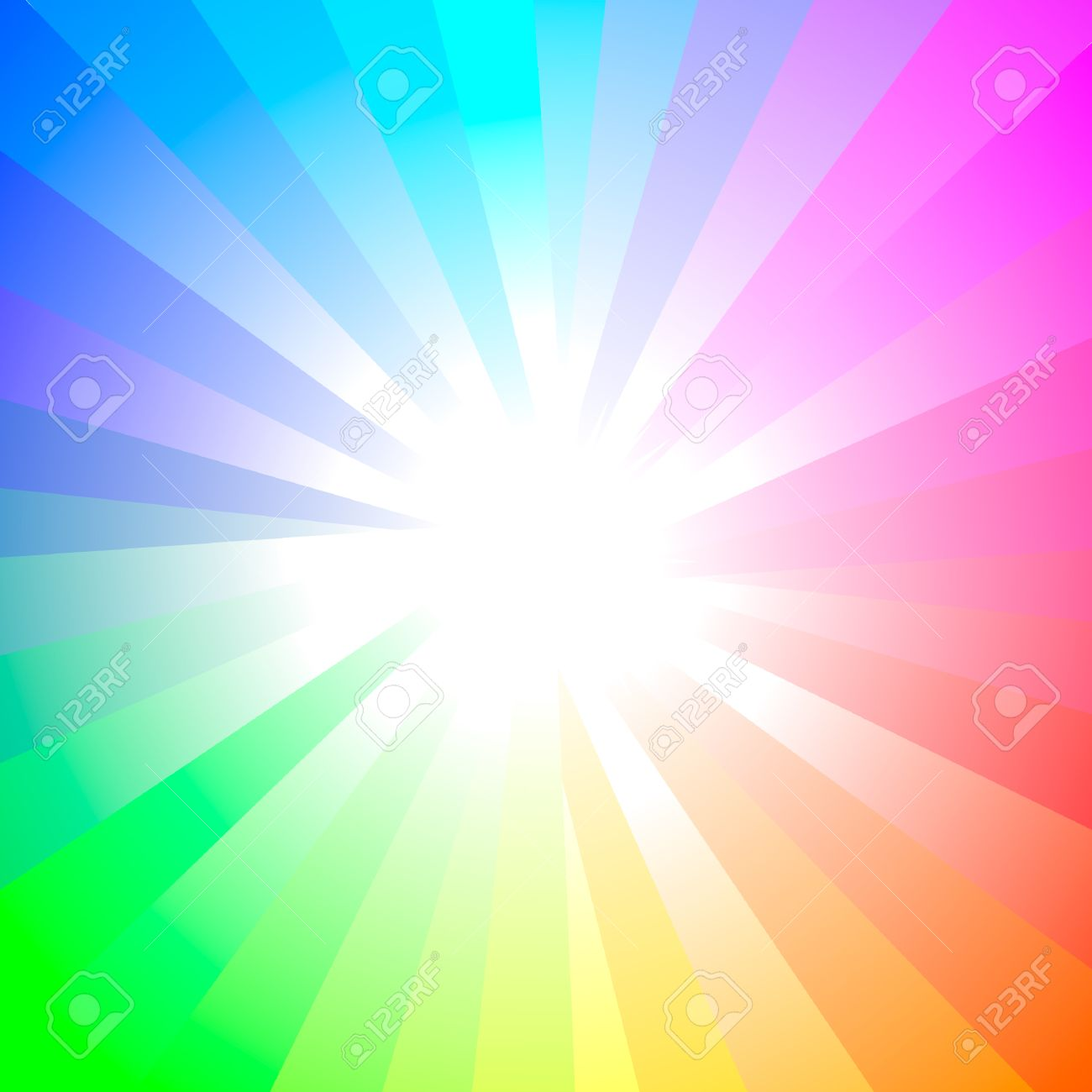 Sunburst abstract vector. Stock Vector - 6084169