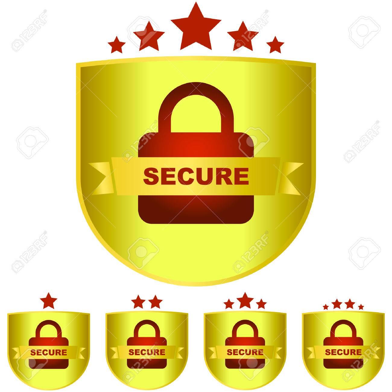 Lock icon. Stock Vector - 6083959