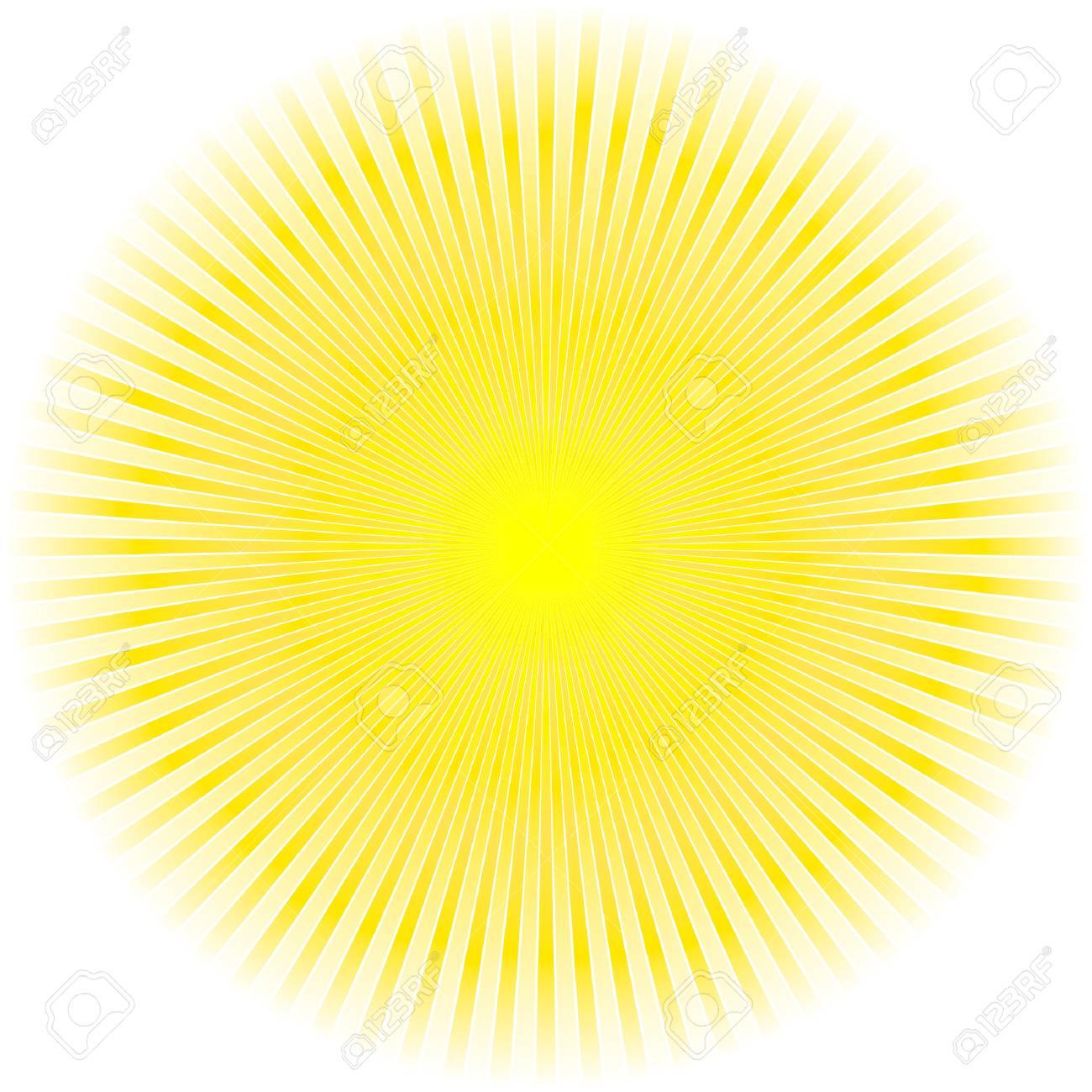 Sunburst abstract vector. Stock Vector - 6085347