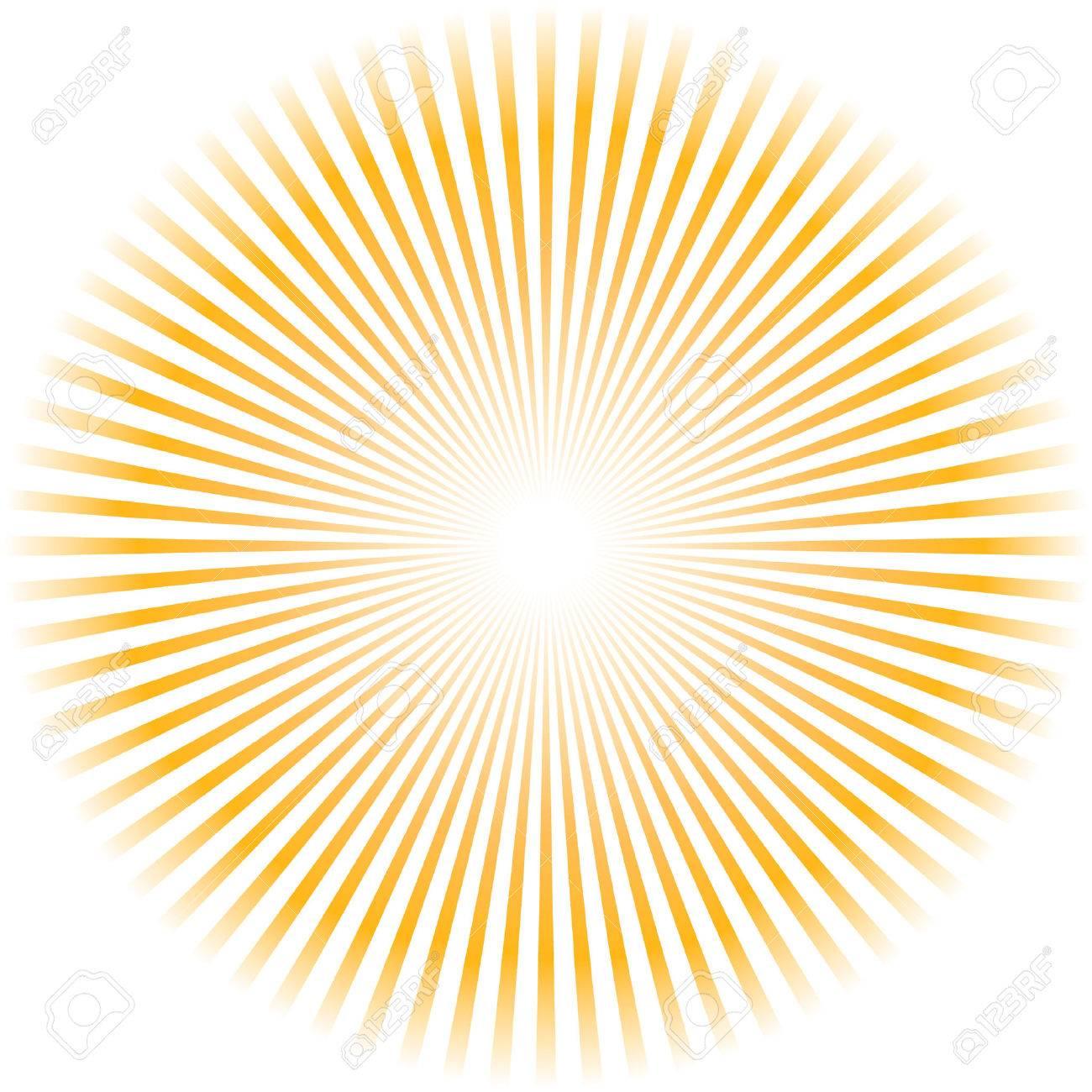 Sunburst vector. Stock Vector - 6085195