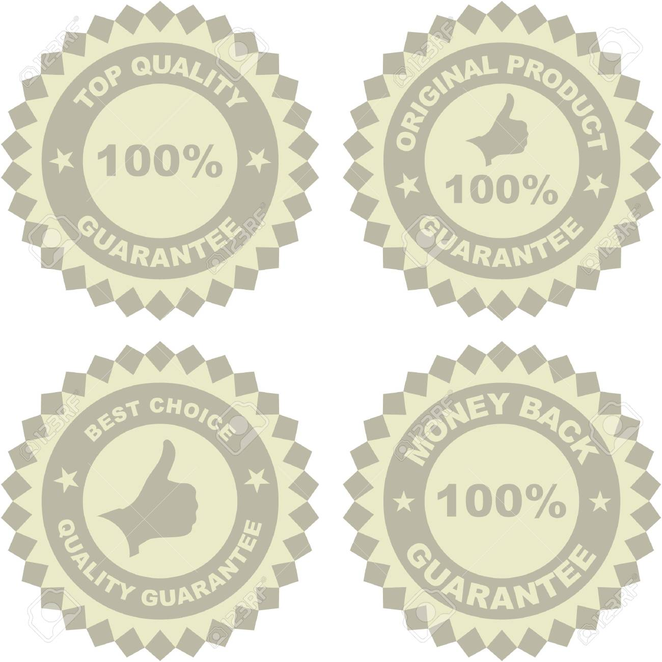 Set of sale labels Stock Vector - 6549270