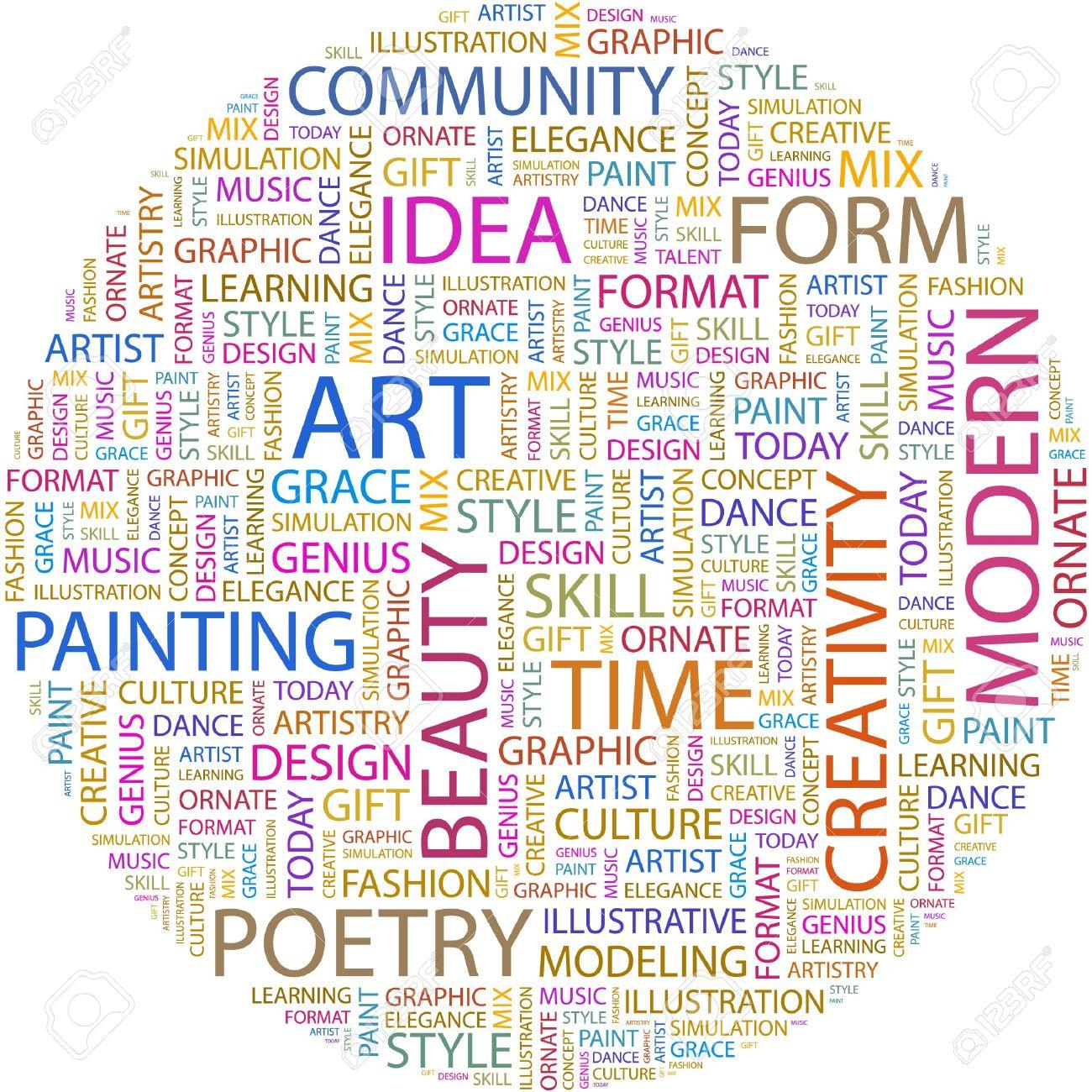 art word collage