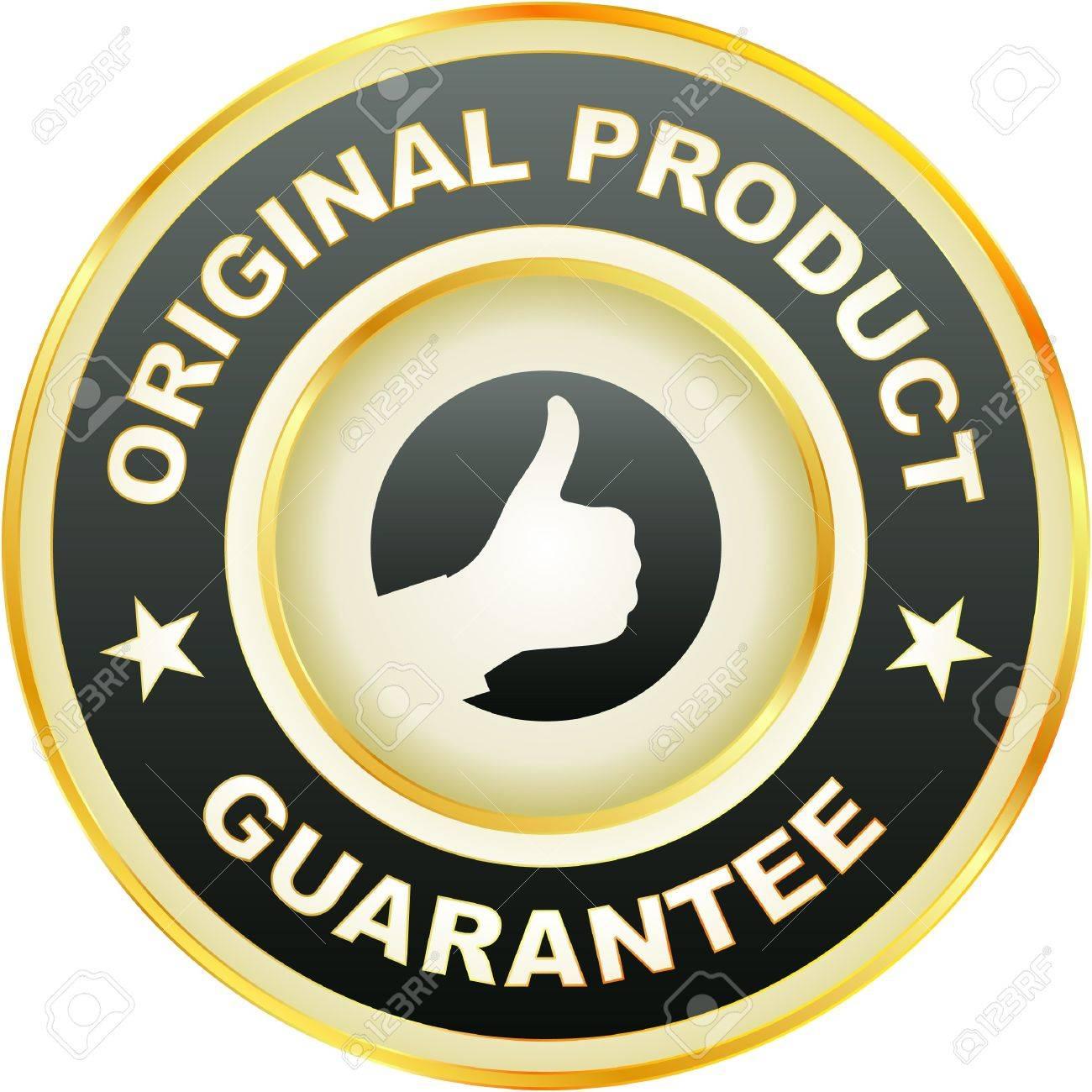 guarantee label. Stock Vector - 7243093