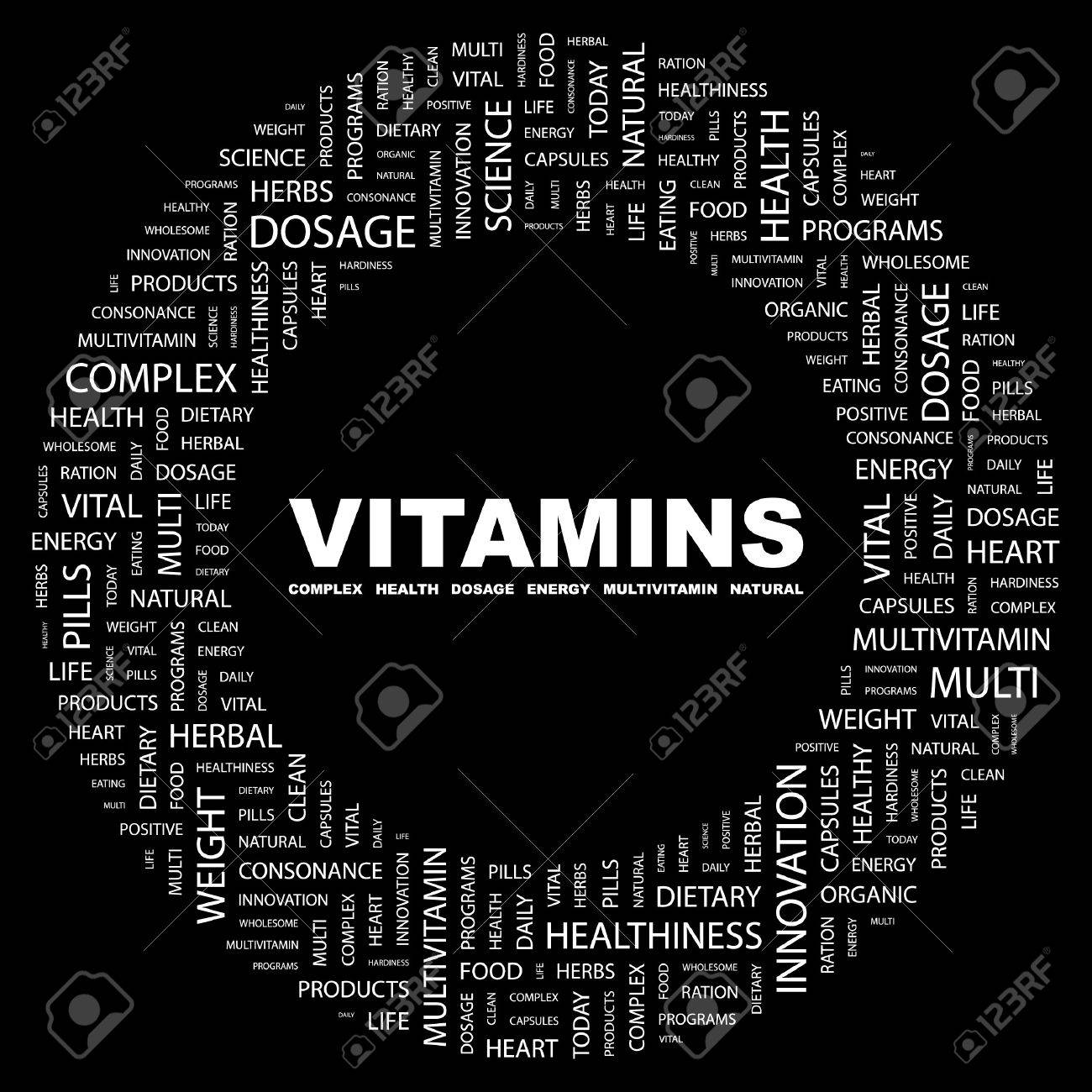 VITAMINS Stock Vector - 7383374