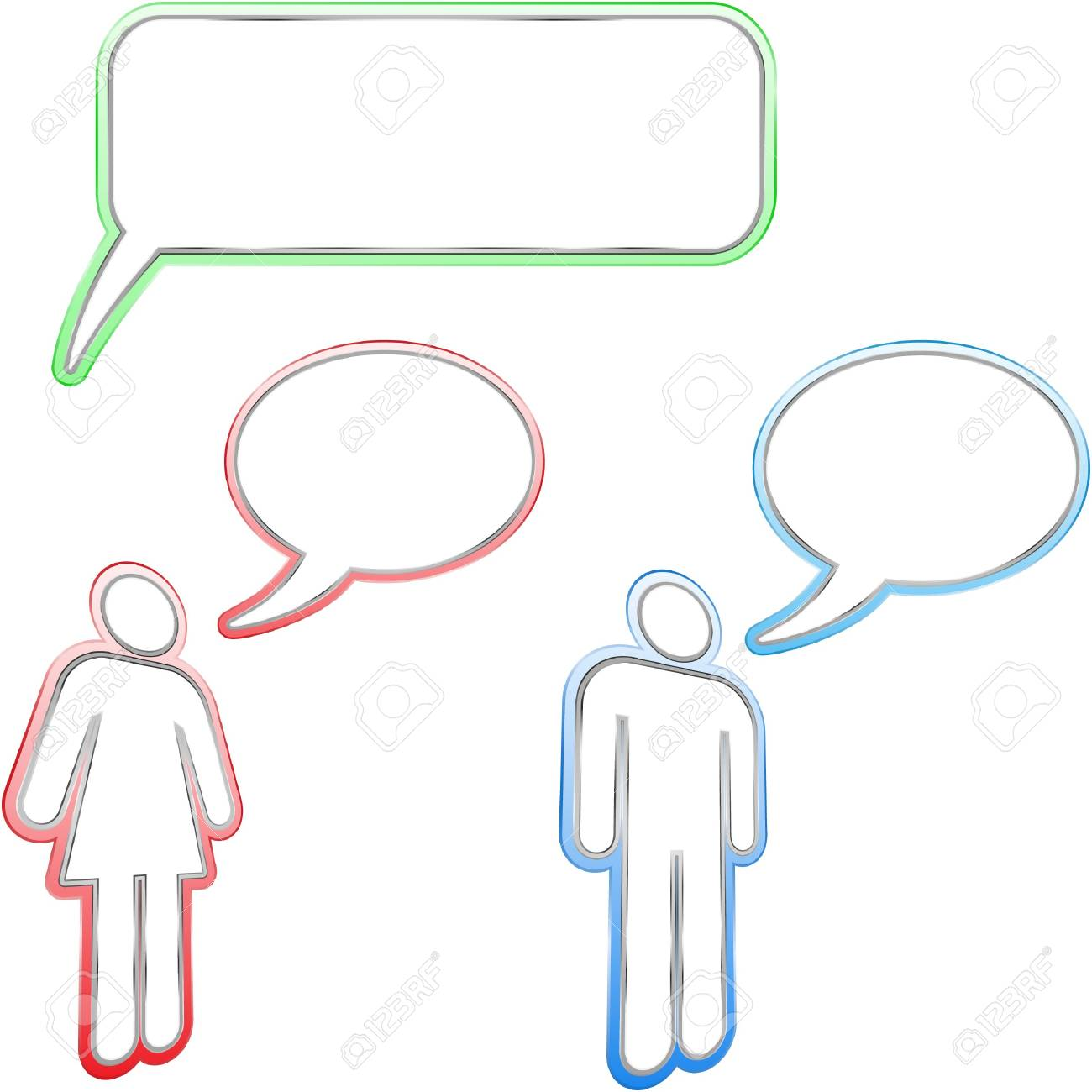 speech bubble. Stock Vector - 7534208