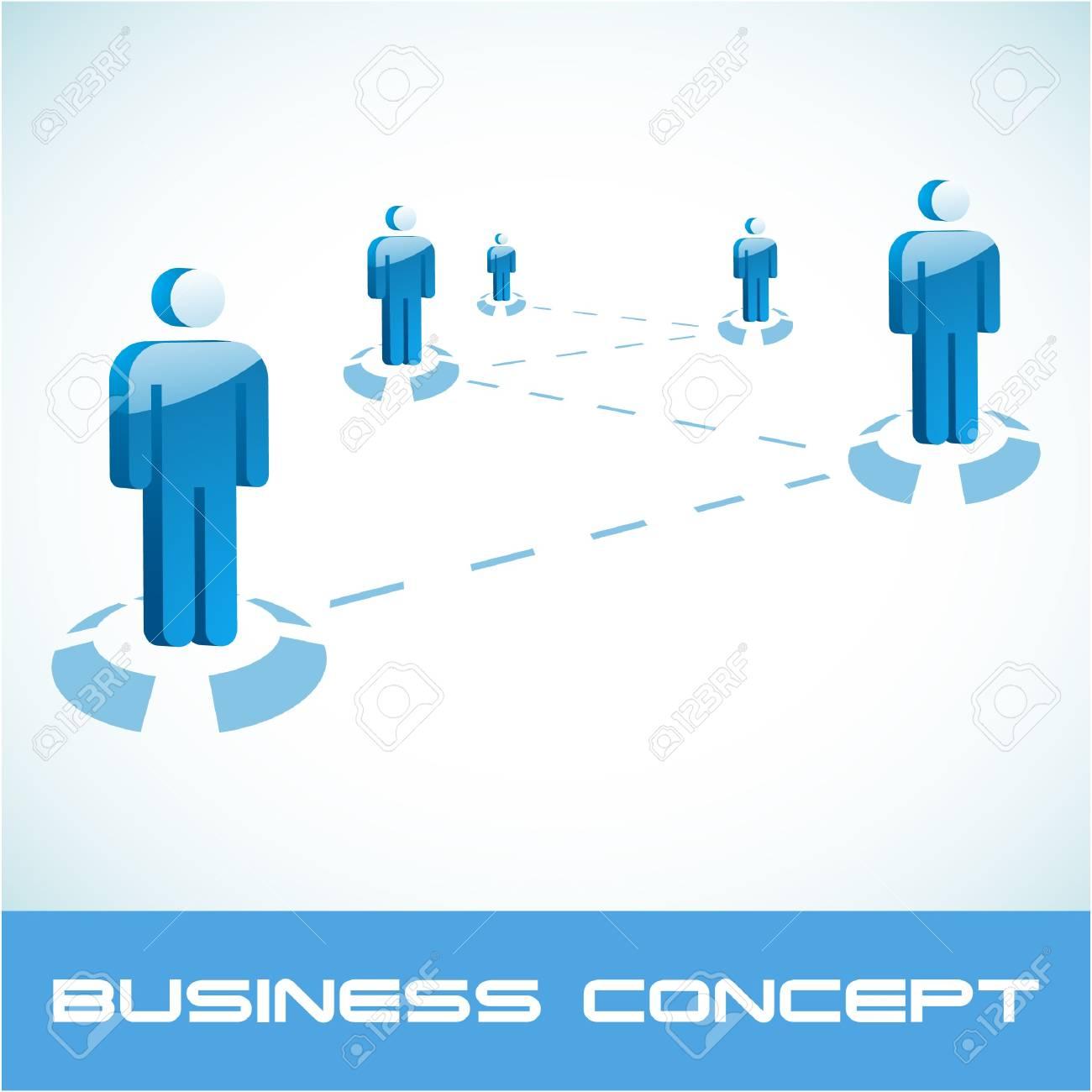 Network concept.  illustration. Stock Vector - 7568184
