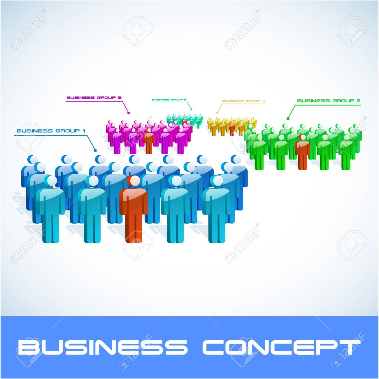 Network concept. illustration. Stock Vector - 7568368