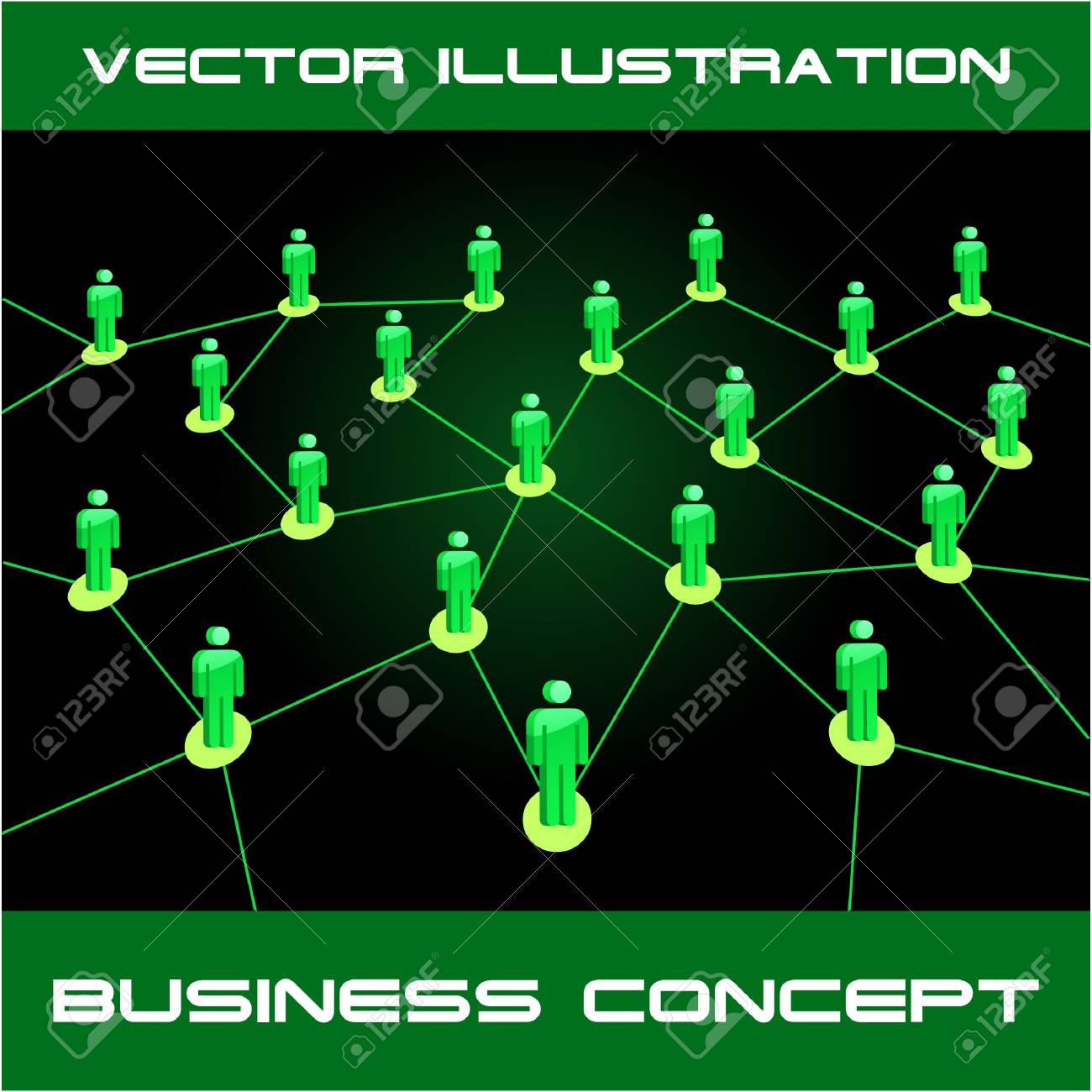 Network concept.  illustration. Stock Vector - 7568296