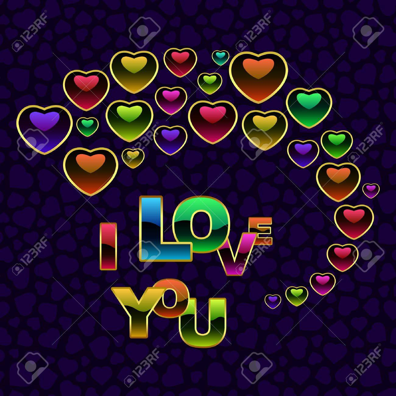 Vector love background. Stock Vector - 7819862