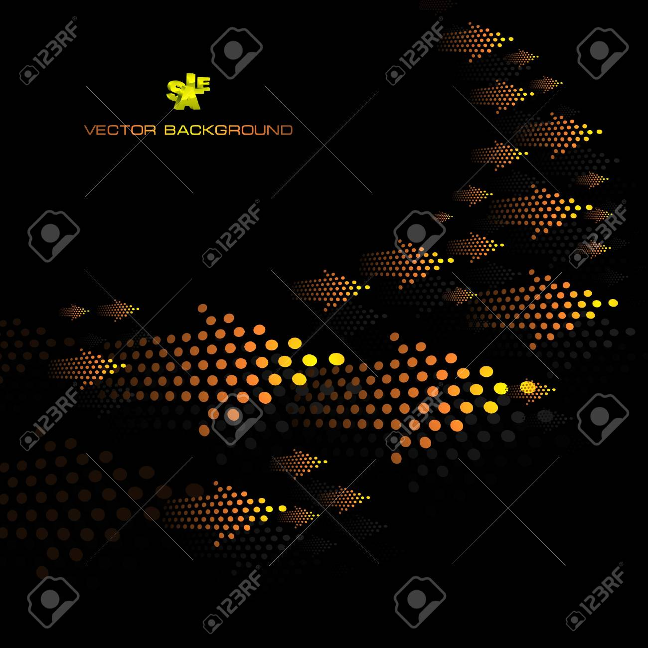 Abstract background with arrow. Stock Vector - 7800583