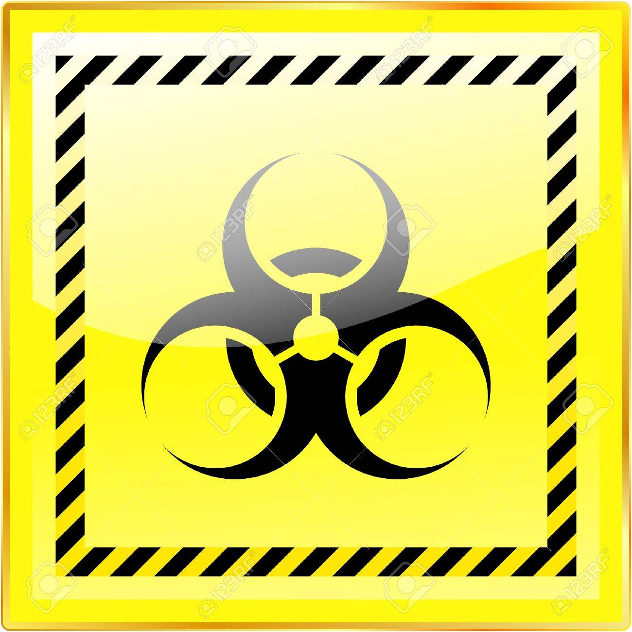 Biohazard sign. Stock Photo - 7880832