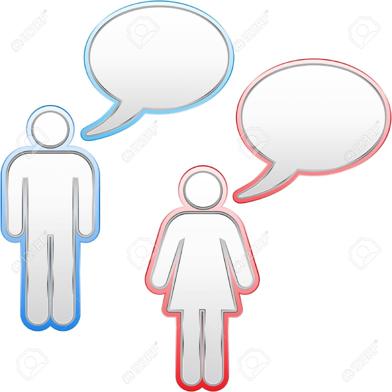 Speech bubble. Stock Photo - 8238171
