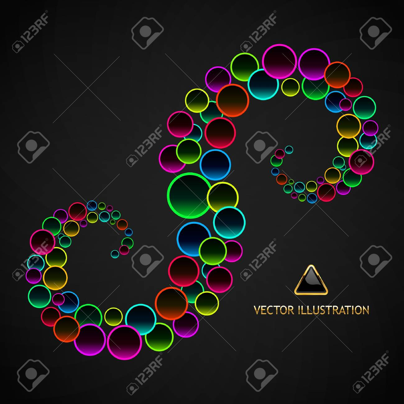 Colorful abstract background. Stock Vector - 8891267