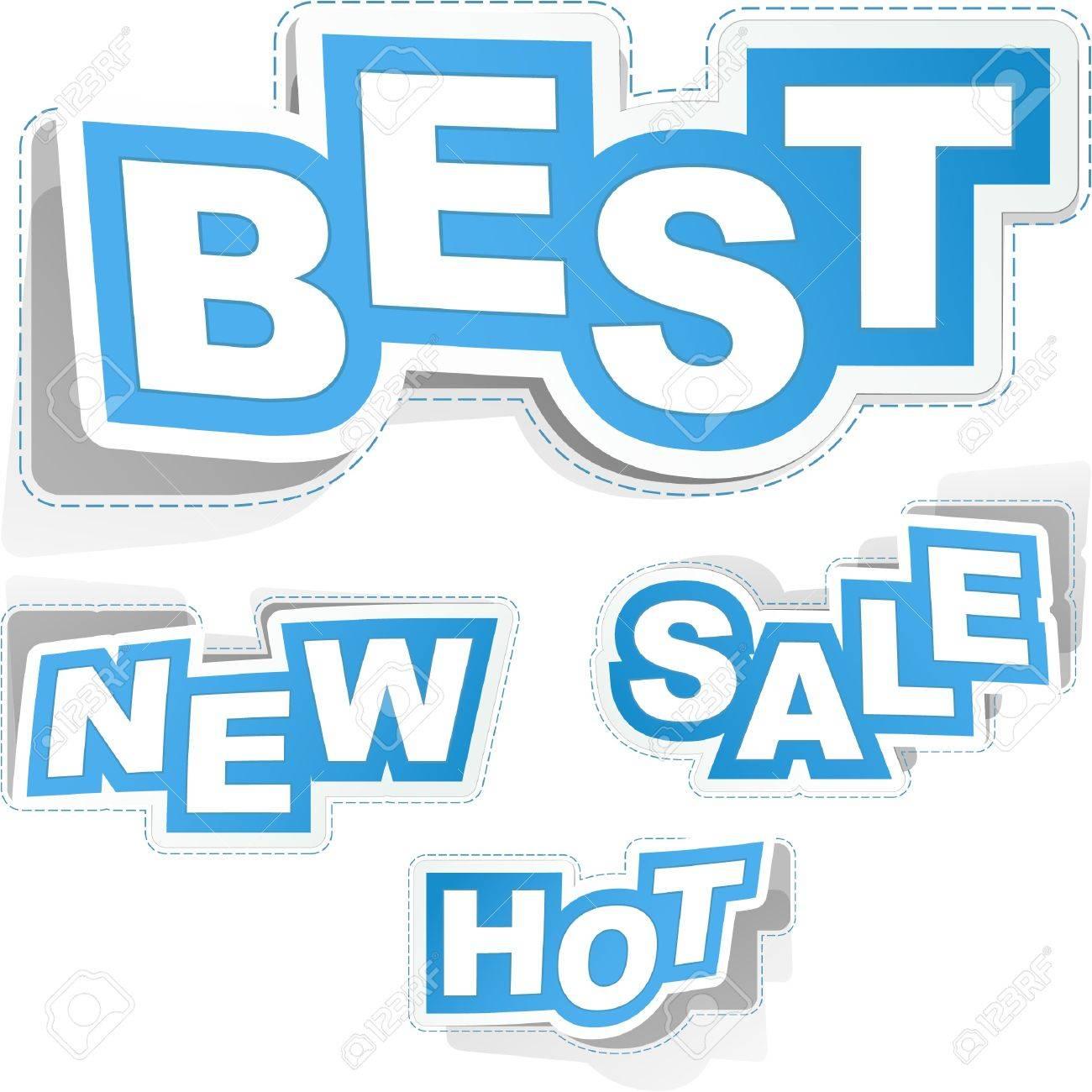 Sticker set for business, Stock Vector - 8891051