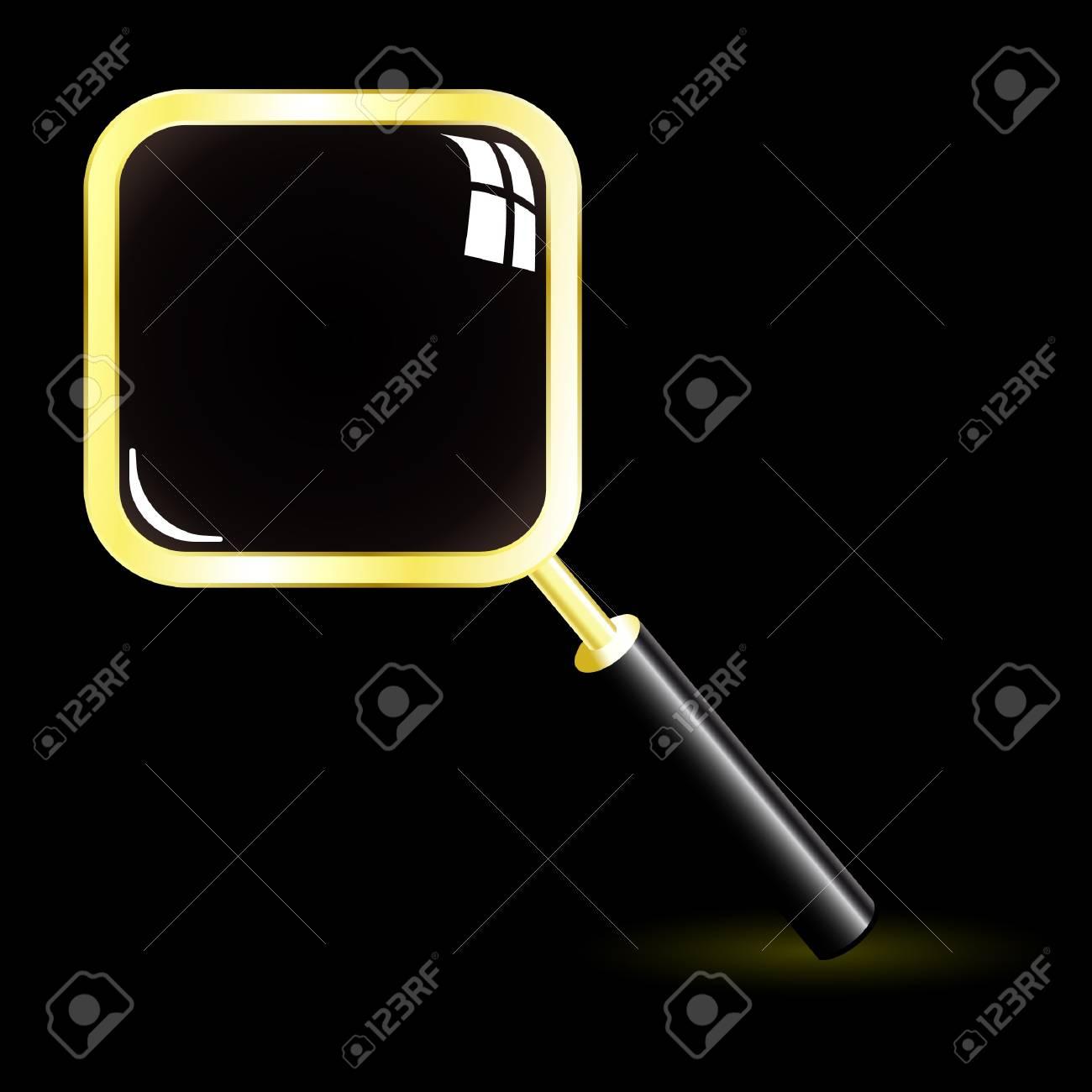 Magnifier. Vector search icon. Stock Vector - 8898635