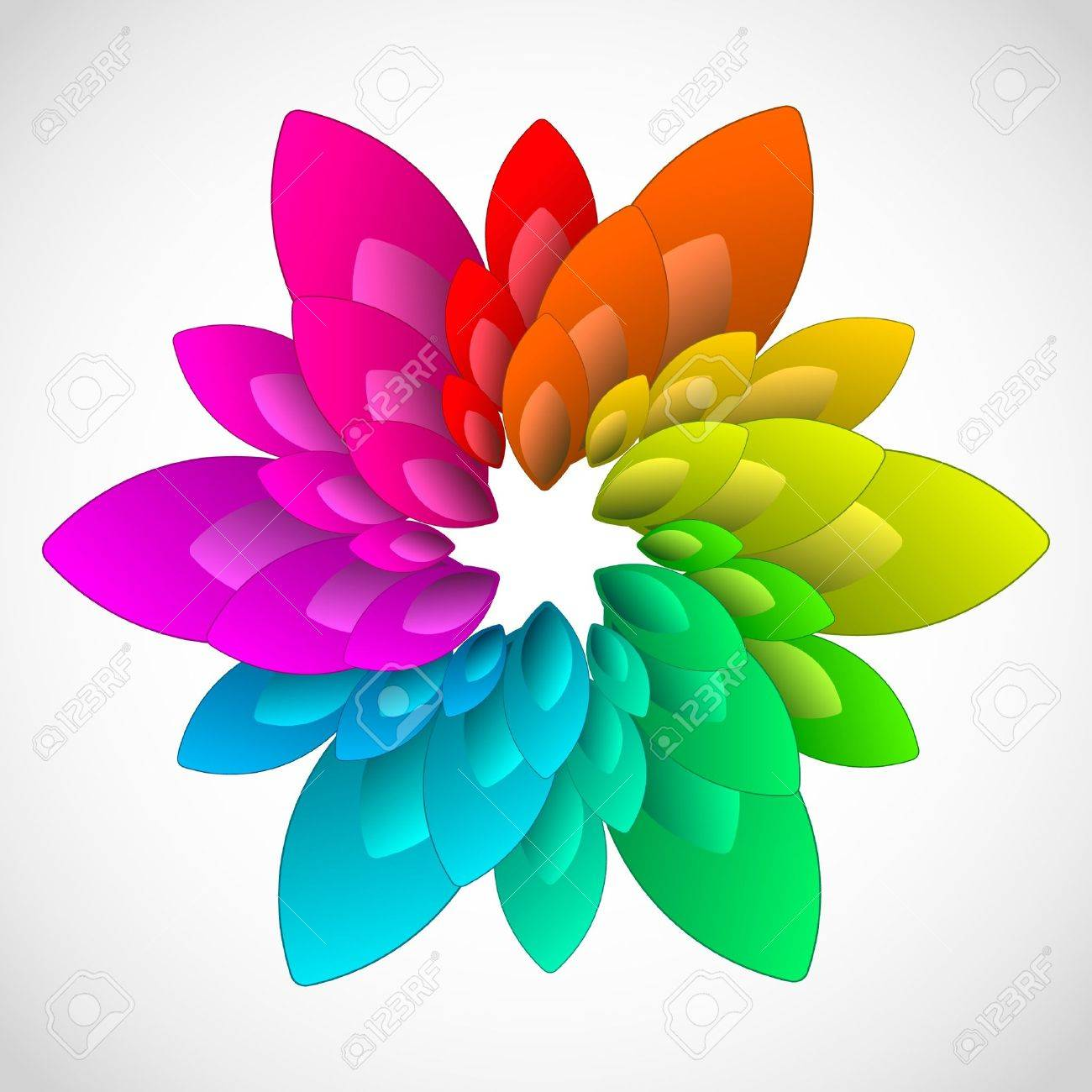 Rainbow design element Stock Vector - 8891045