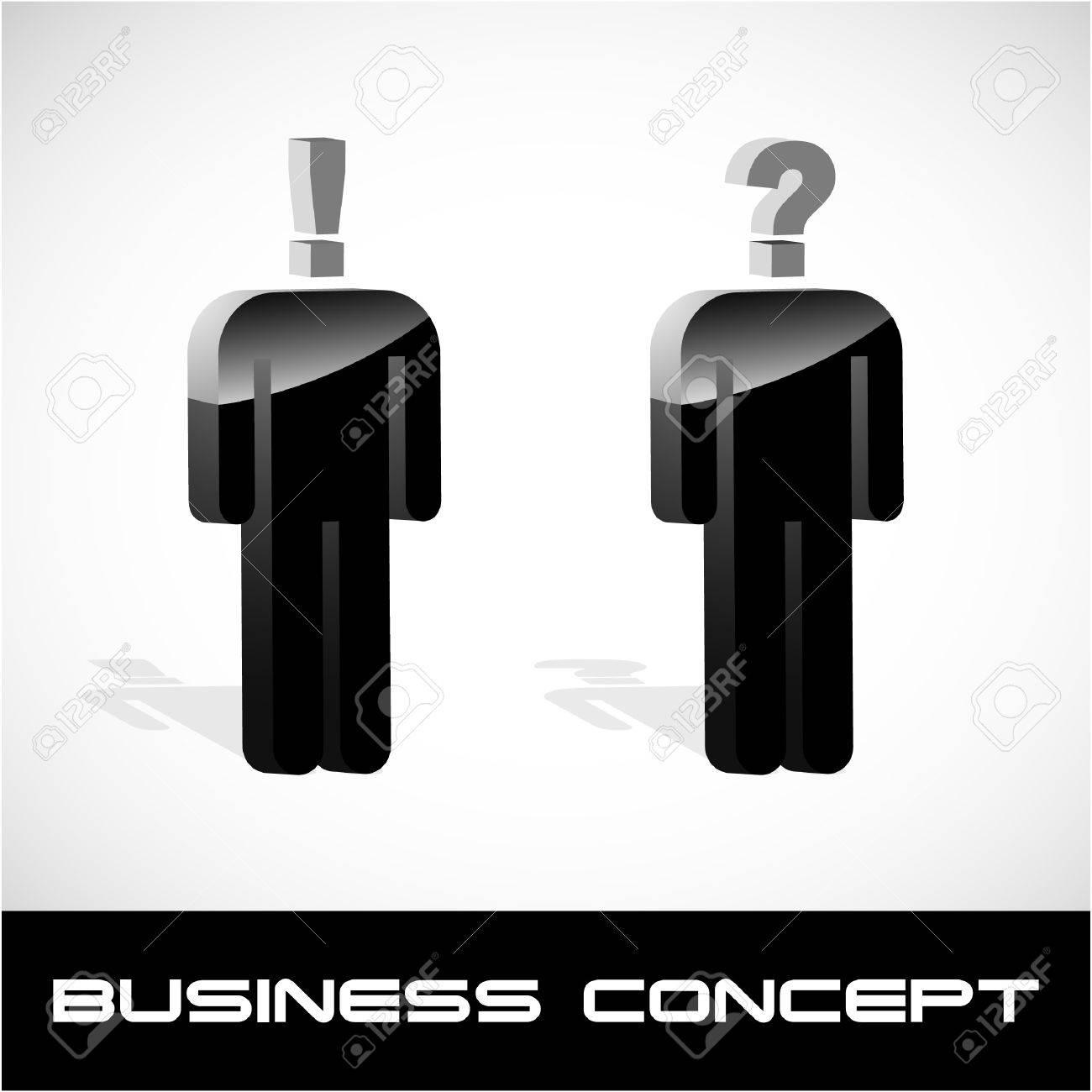 Question concept. Vector illustration. Stock Vector - 9392778