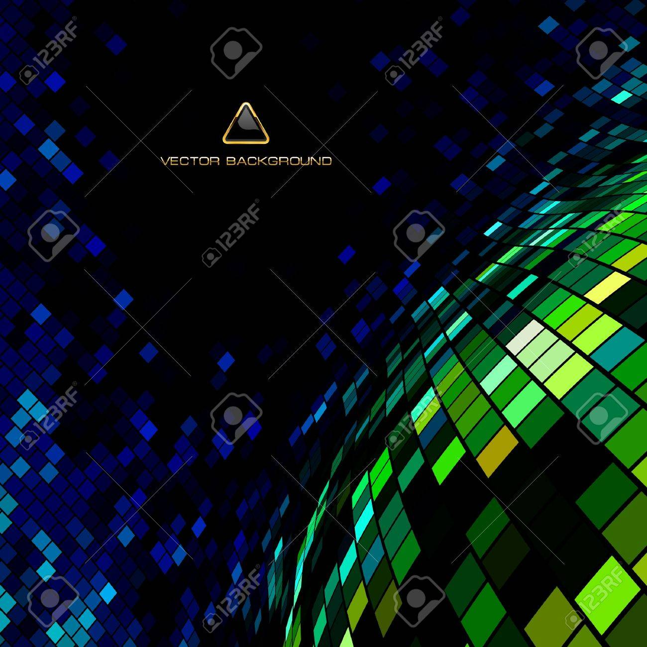 Abstract mosaic background. Stock Vector - 8947776