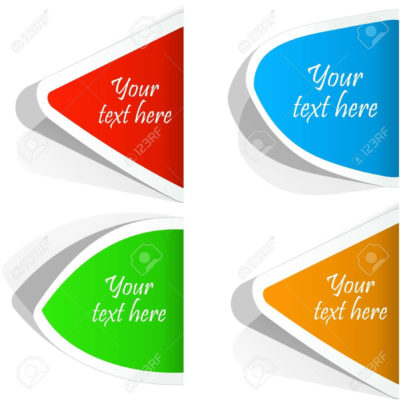 Design elements banner - Set Of Sale Design Elements Stock Vector 9397467