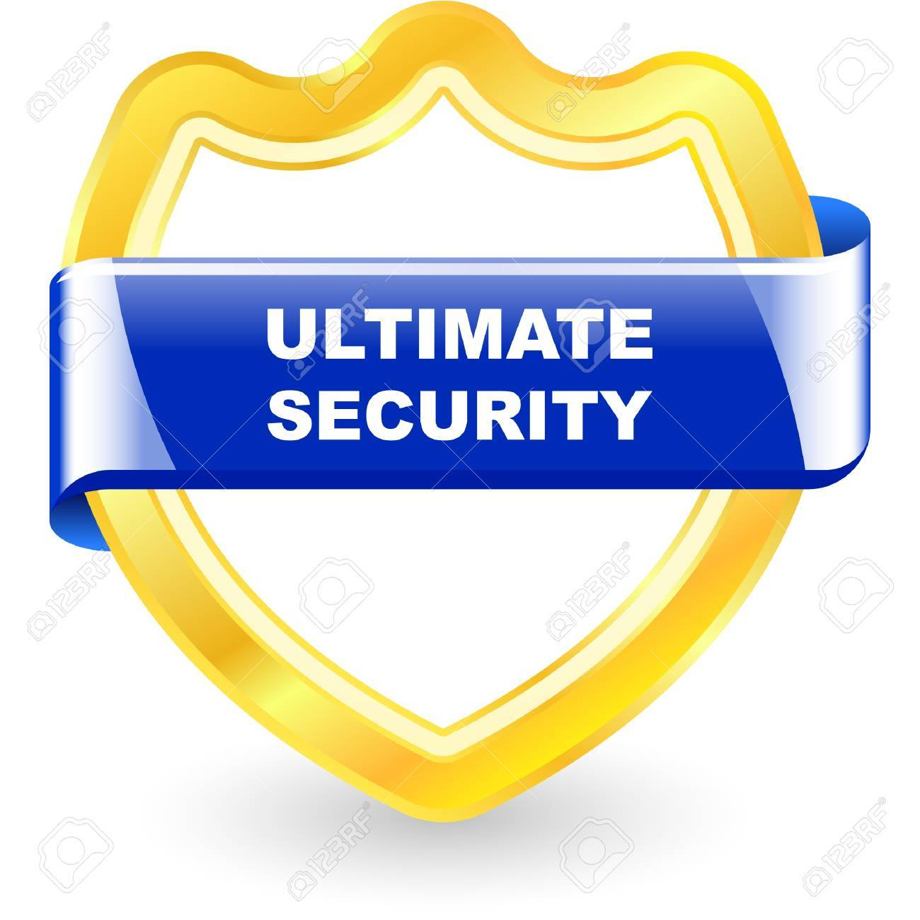 Ultimate security illustration. Stock Vector - 9901845