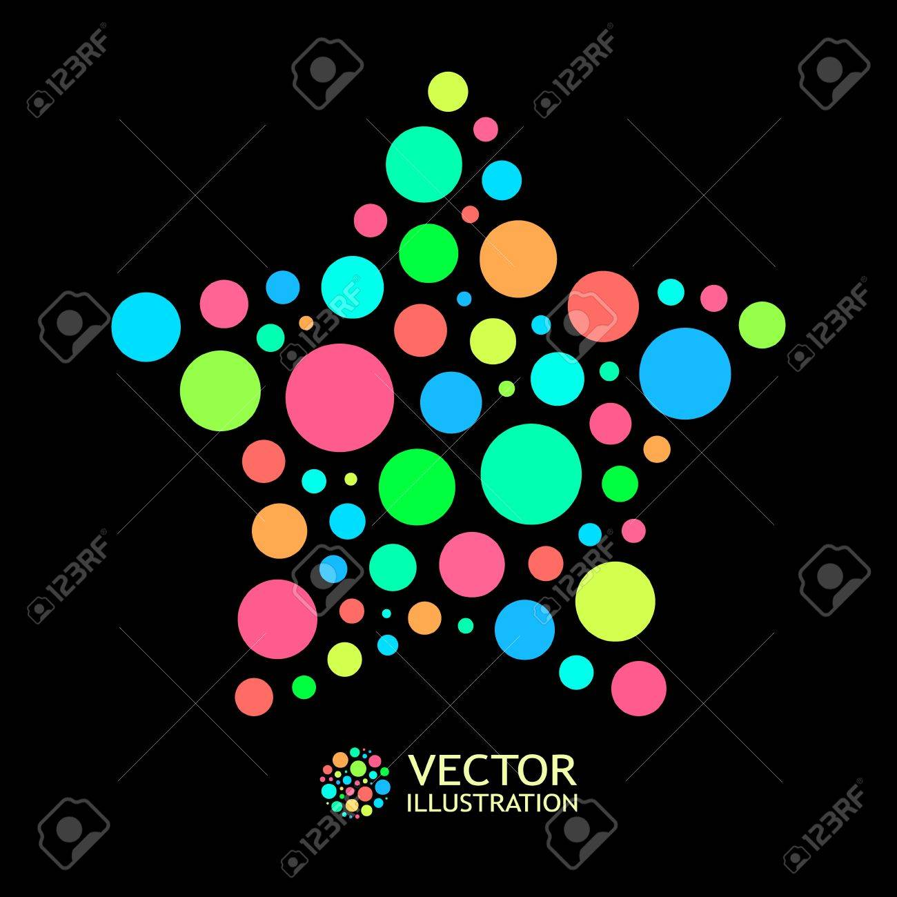 Colorful abstract background. Stock Vector - 11885575