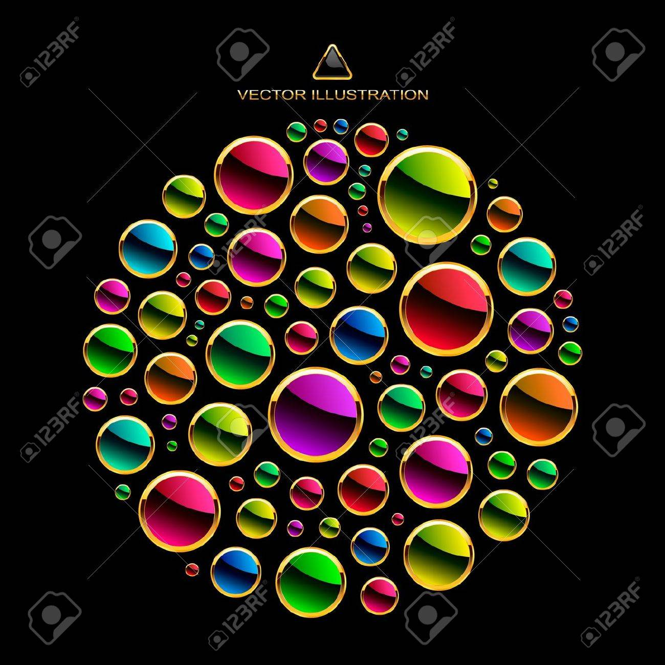 Colorful abstract illustration. Stock Vector - 11254437