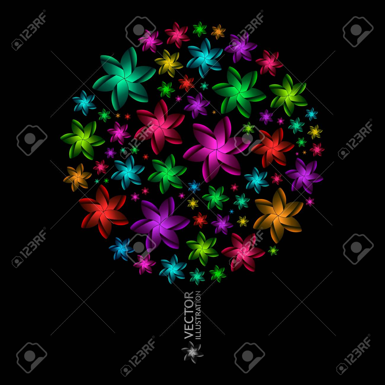 Floral illustration. Stock Vector - 11888300