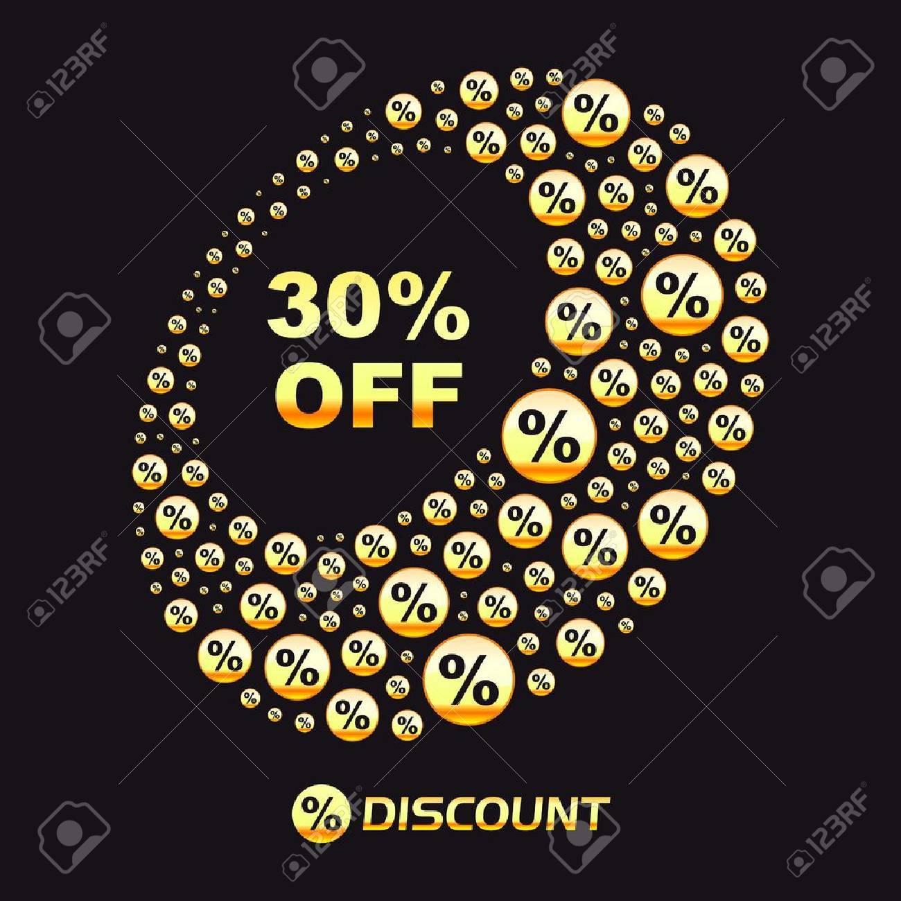 Discount illustration. Stock Vector - 11269240