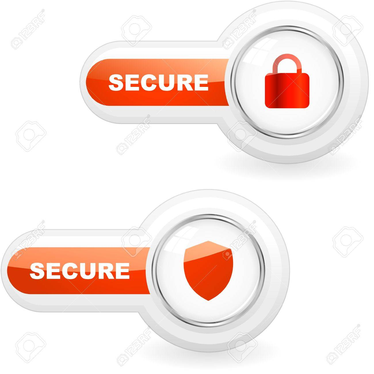 SECURE. Vector illustration. Stock Vector - 11269227