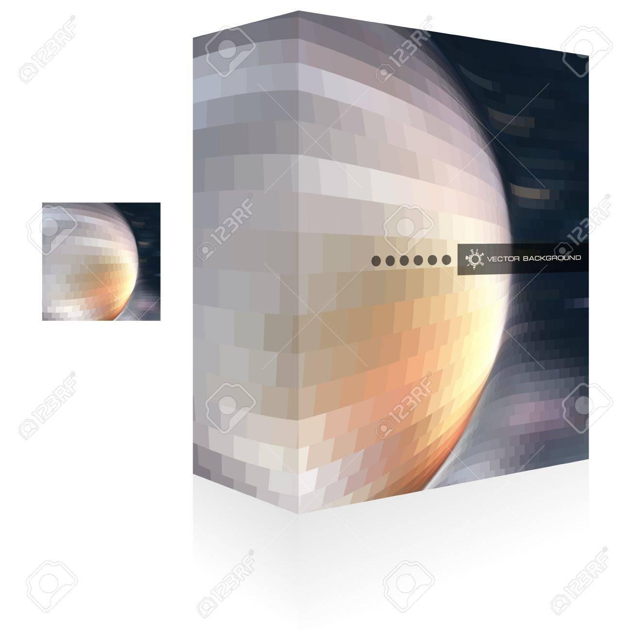 Vector packaging box  Abstract illustration Stock Vector - 15176550