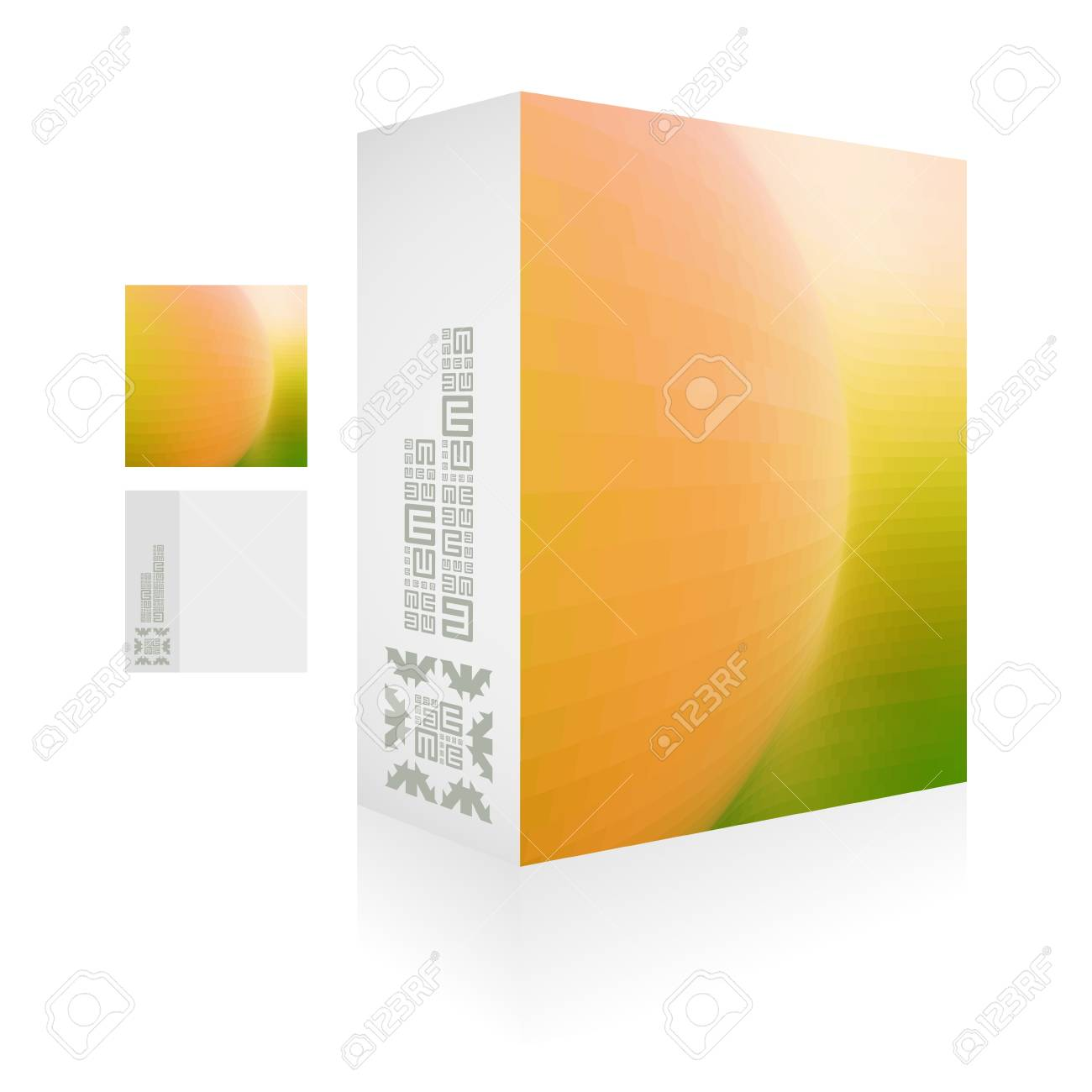 packaging box  Abstract illustration Stock Vector - 16479849