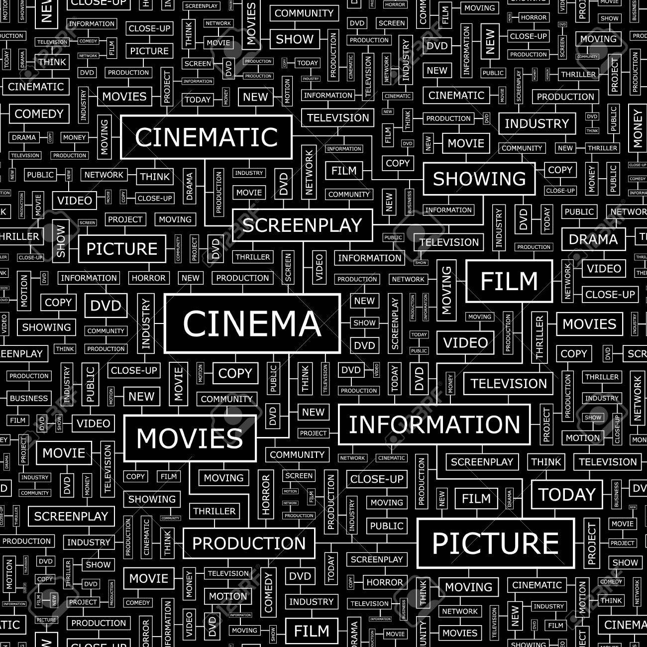CINEMA  Seamless pattern Stock Vector - 16709413