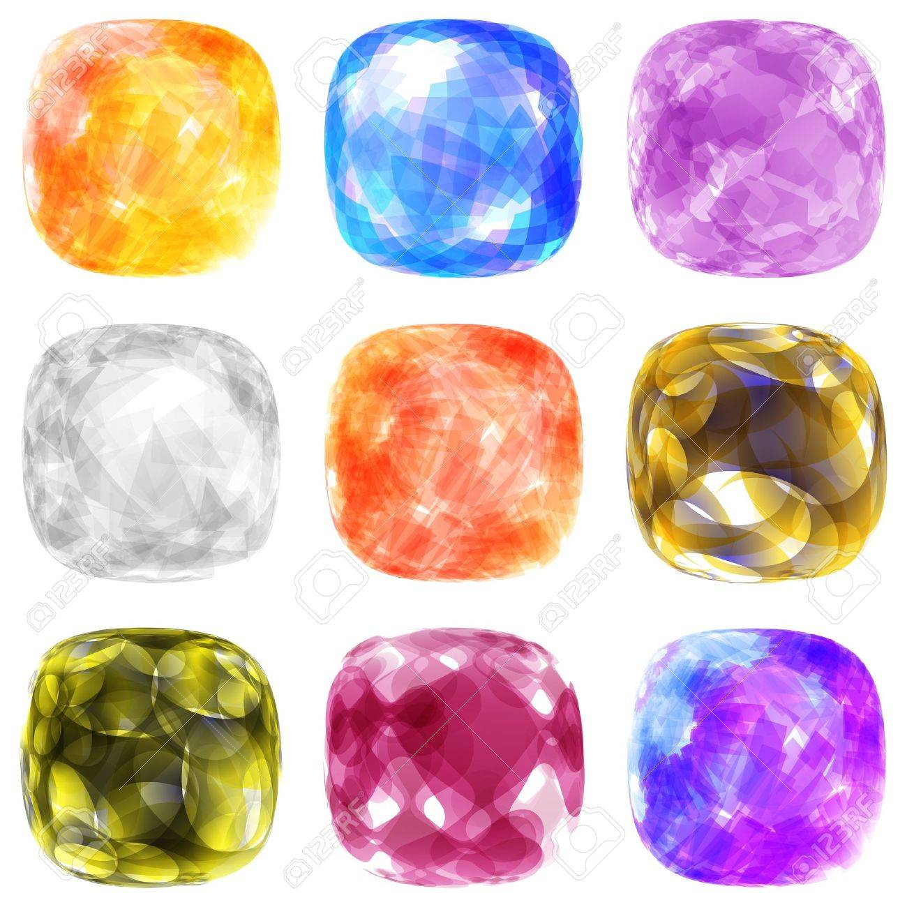 Jewel set  Vector illustration Stock Vector - 16455224
