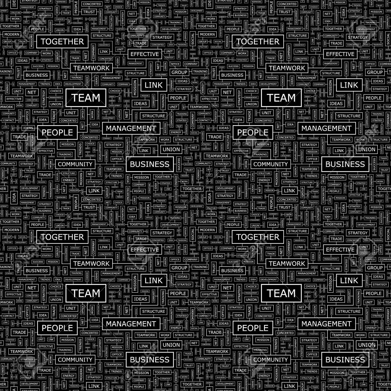 TEAM  Seamless vector pattern Stock Vector - 16455239