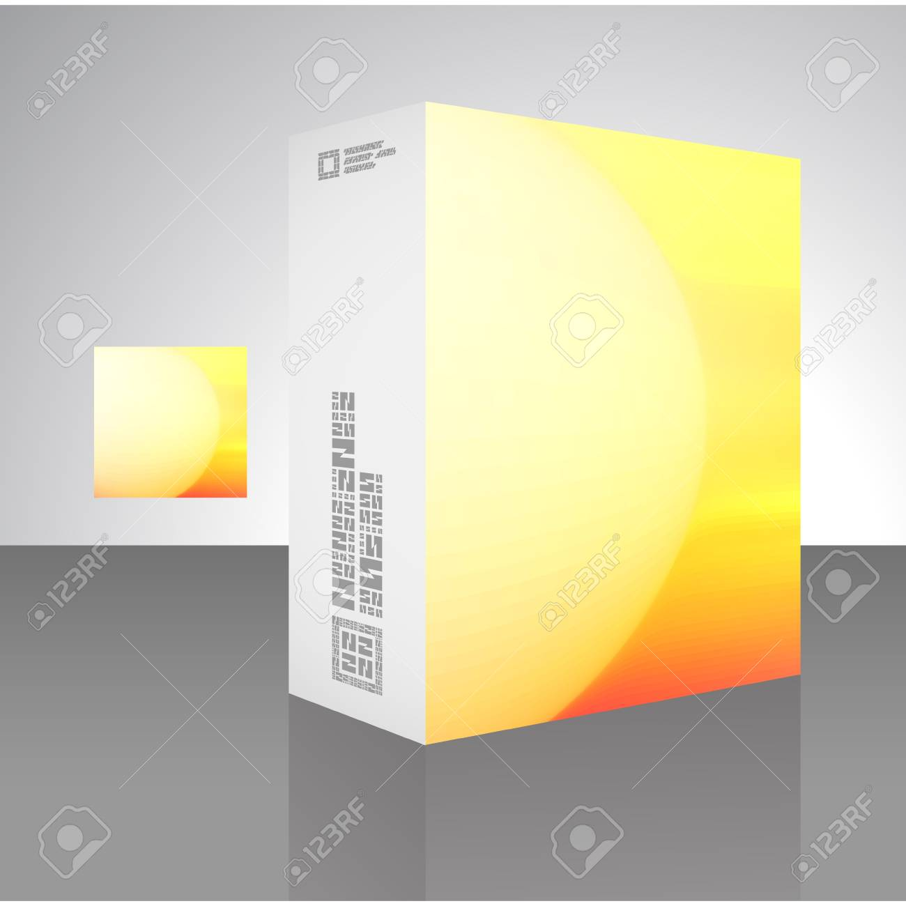 Packaging box Stock Vector - 18352088