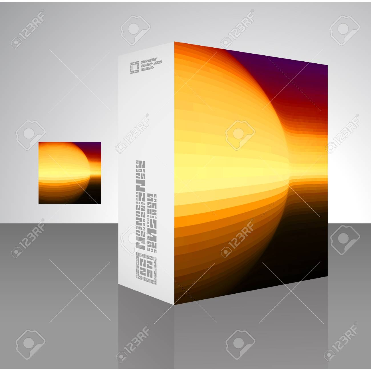 Packaging box Stock Vector - 18352110