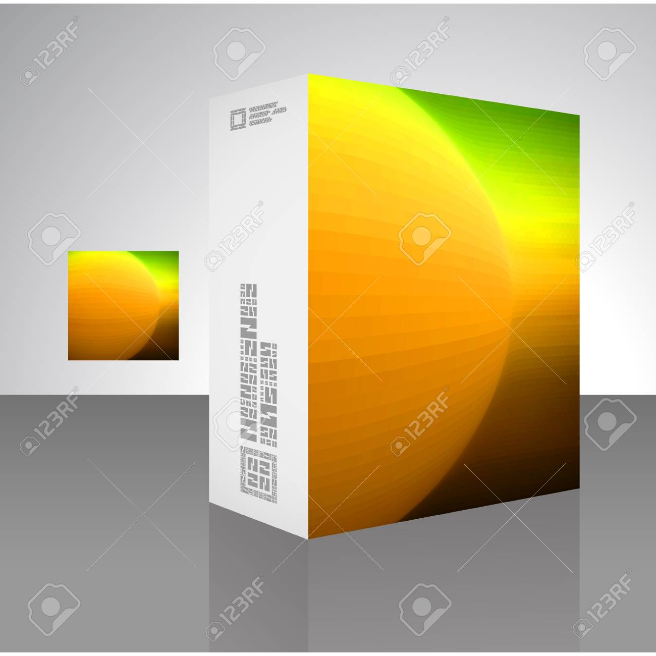 Packaging box Stock Vector - 18352121
