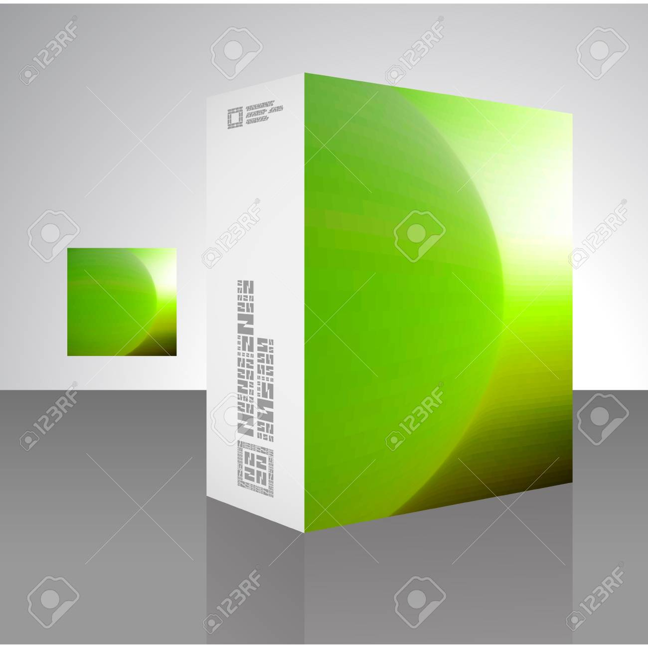 Packaging box Stock Vector - 18352096