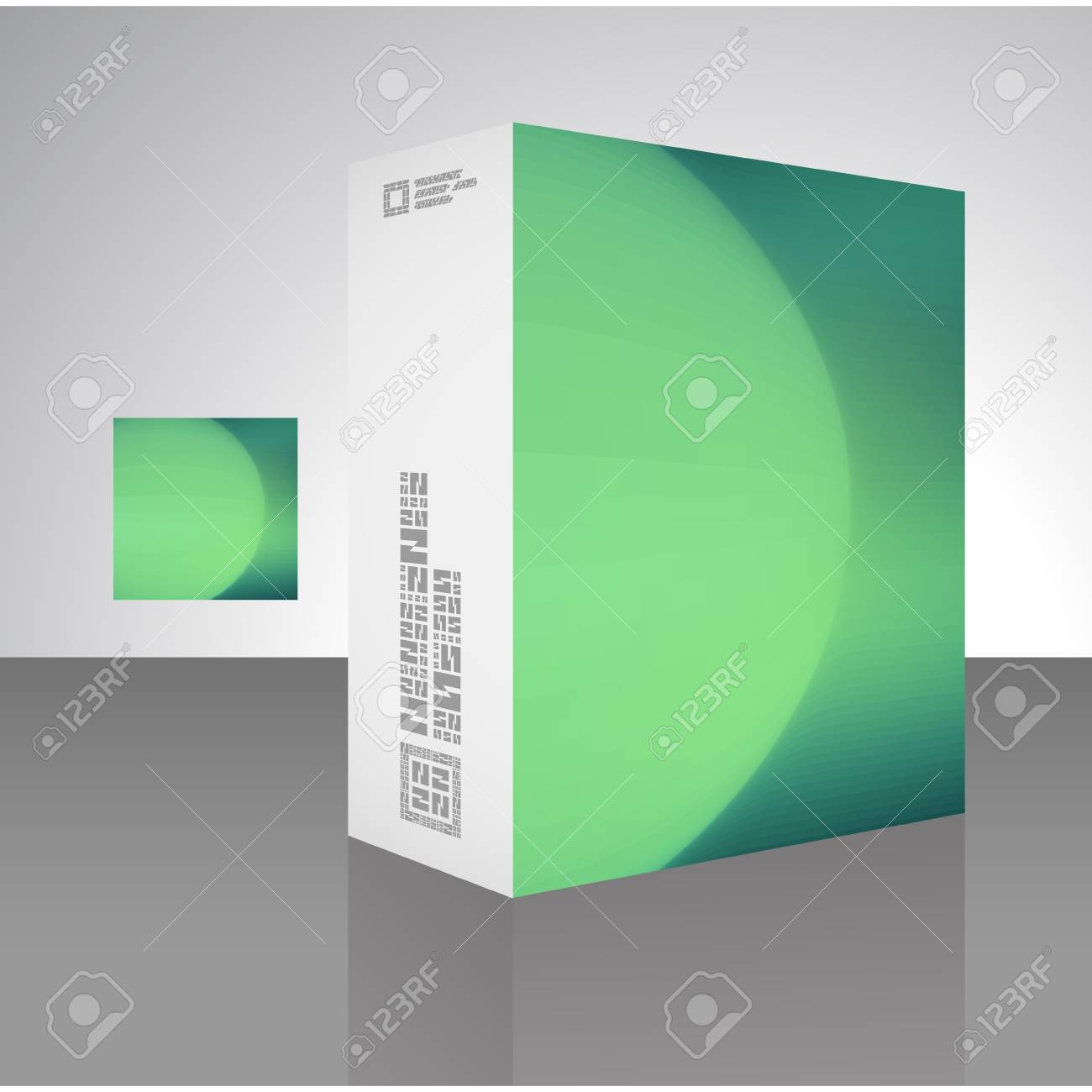 Packaging box Stock Vector - 17503986