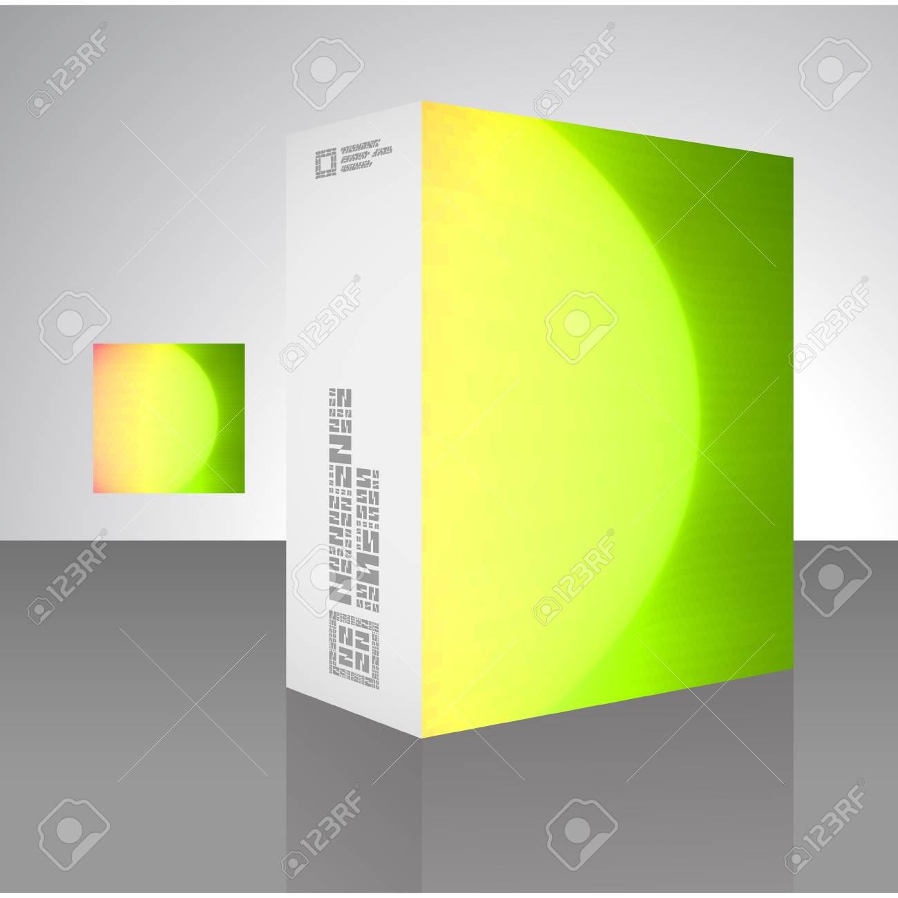Packaging box Stock Vector - 17390621