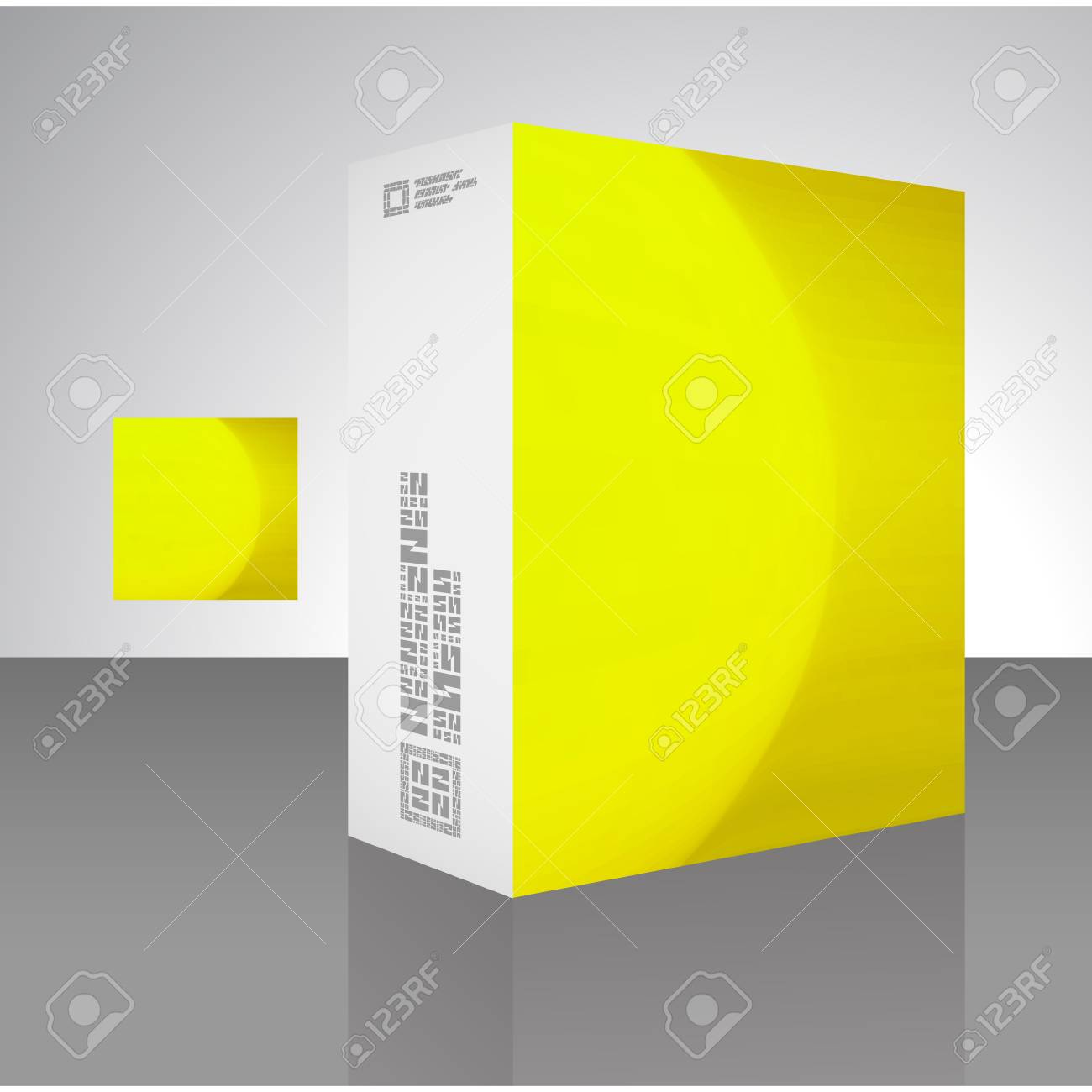 Packaging box Stock Vector - 17390602