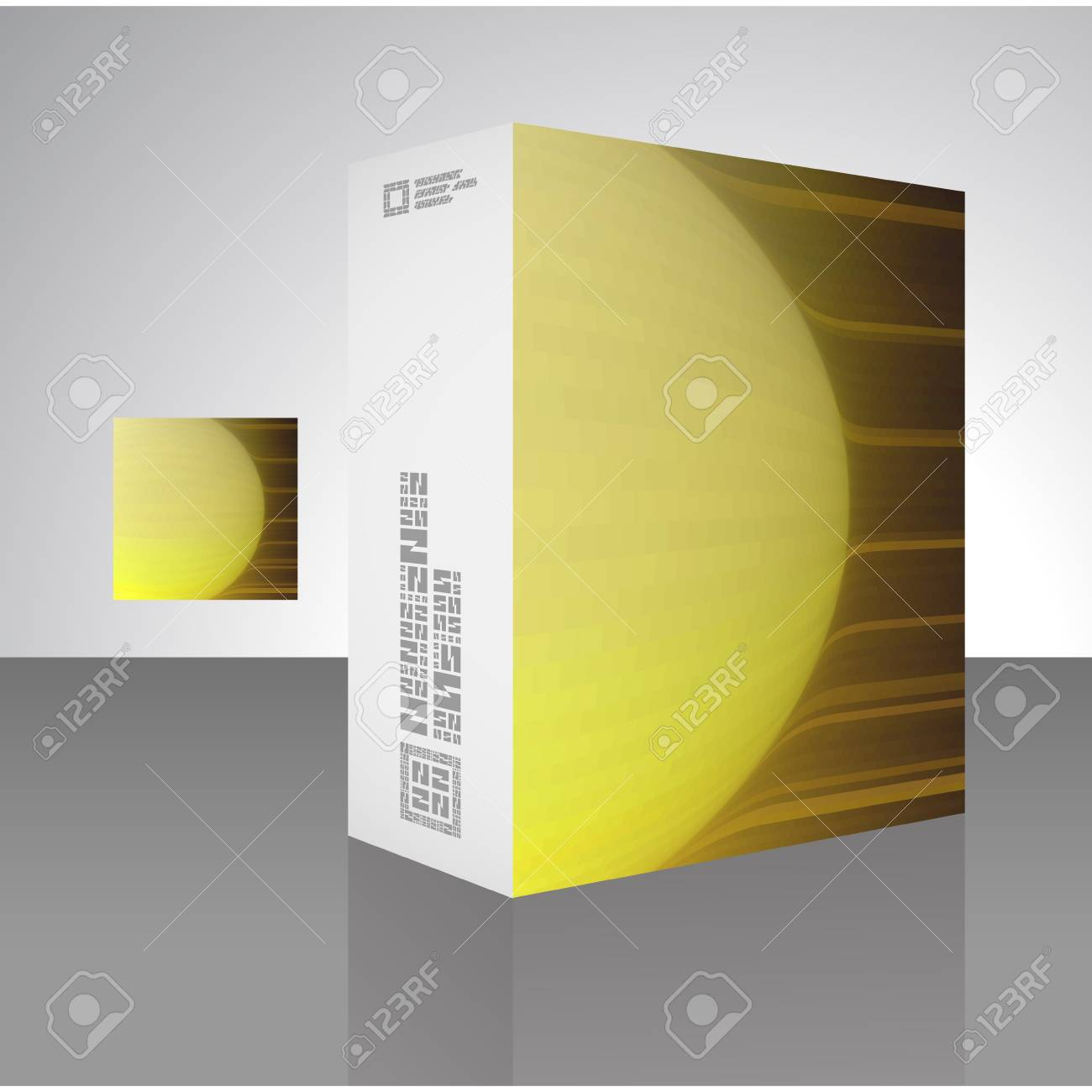 Vector packaging box Stock Vector - 16496936