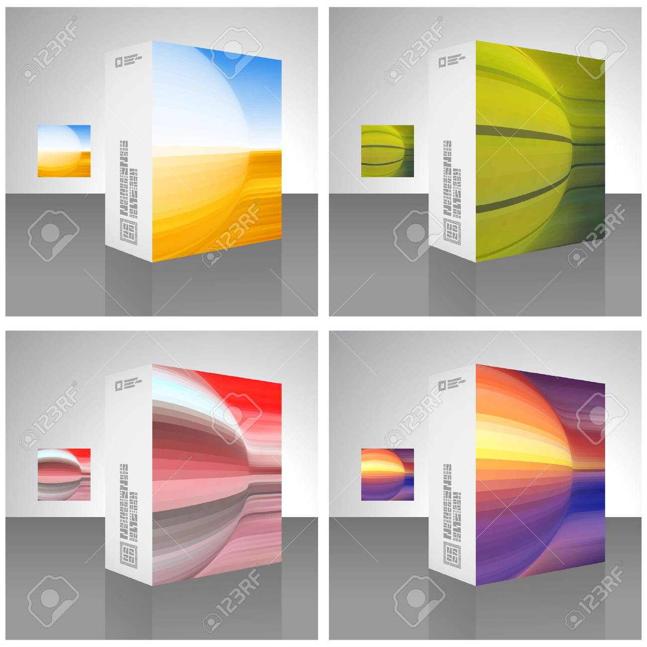 Packaging box Stock Vector - 16770978