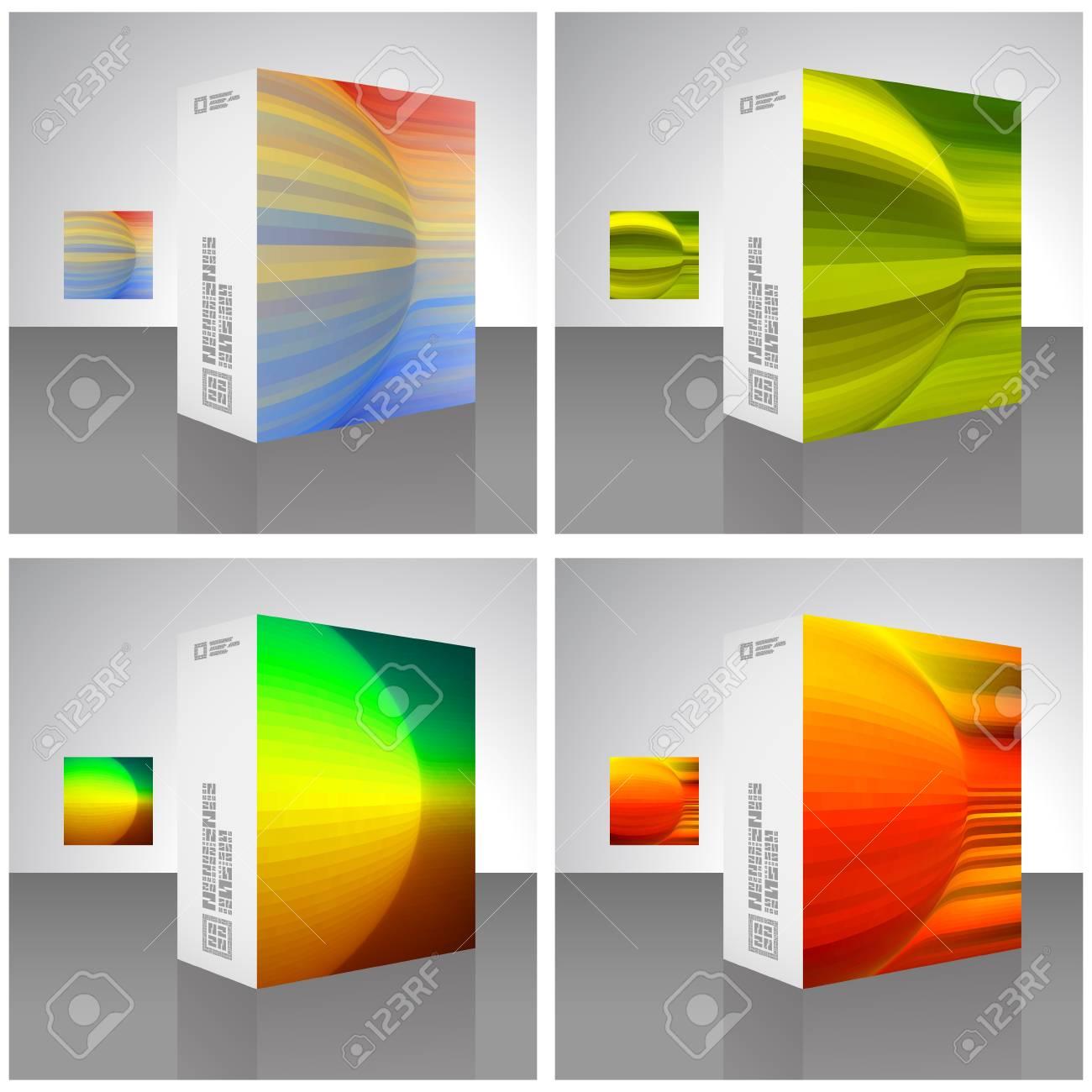 Vector packaging box Stock Vector - 16496939