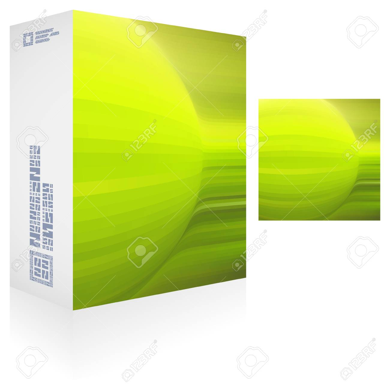 Packaging box Stock Vector - 17443461