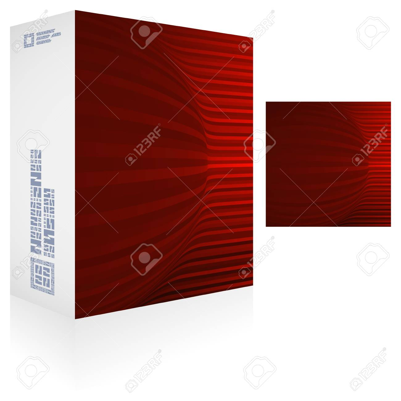 Packaging box Stock Vector - 18485670