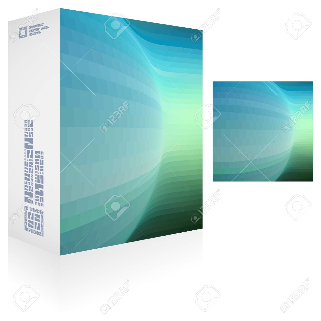 Packaging box Stock Vector - 18434508