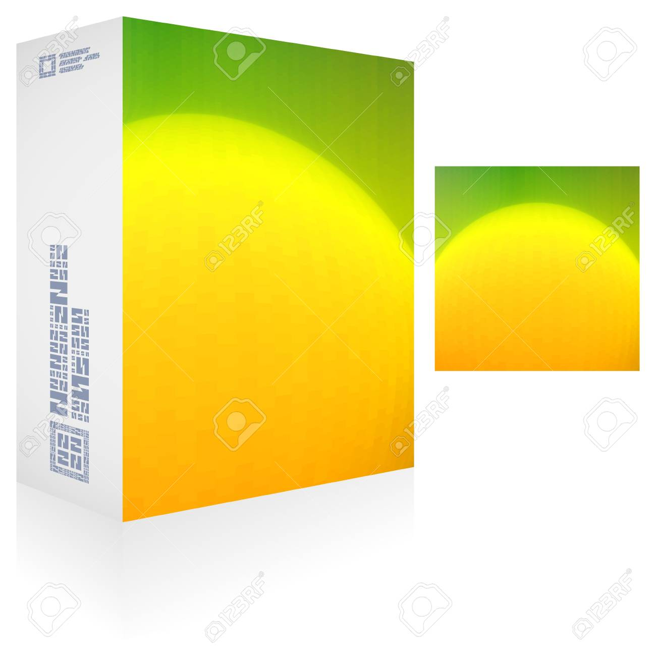 Packaging box Stock Vector - 18486578